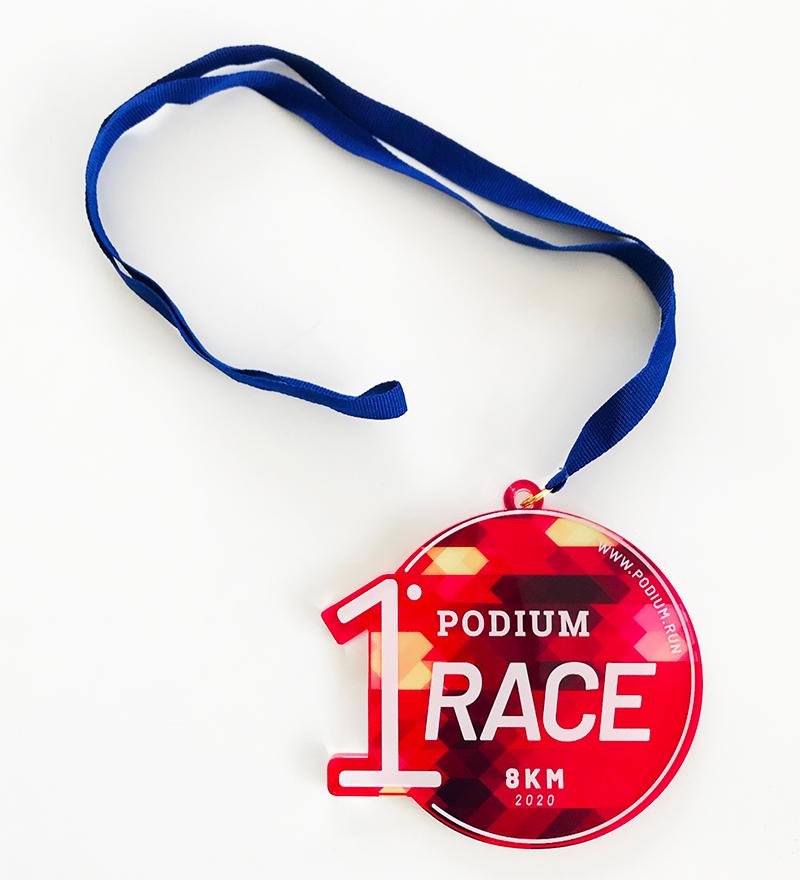 "Medaglia Podium ""First Race"" - 15€"