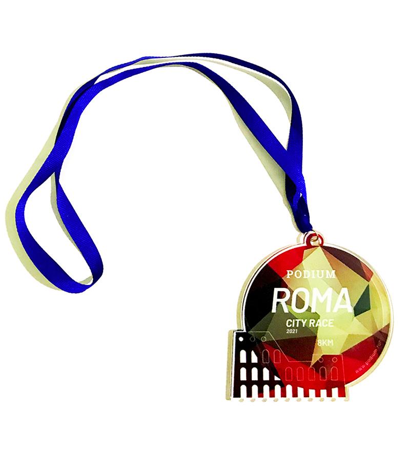 """Medaglia """"Roma City Race"""" - 15€"""