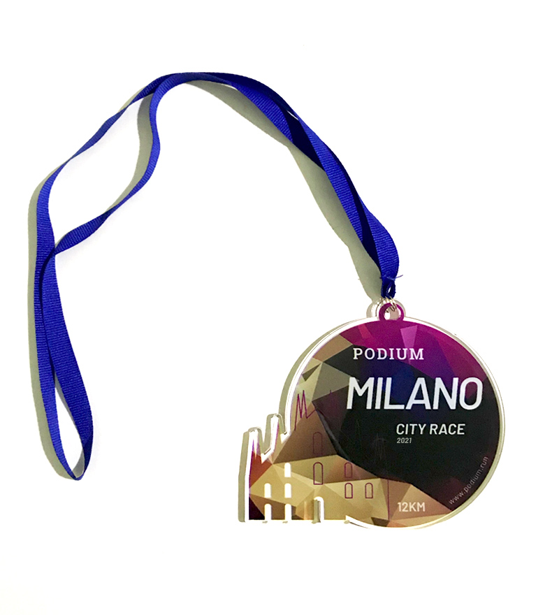 "Medaglia ""Milano City Race"" - 15€"