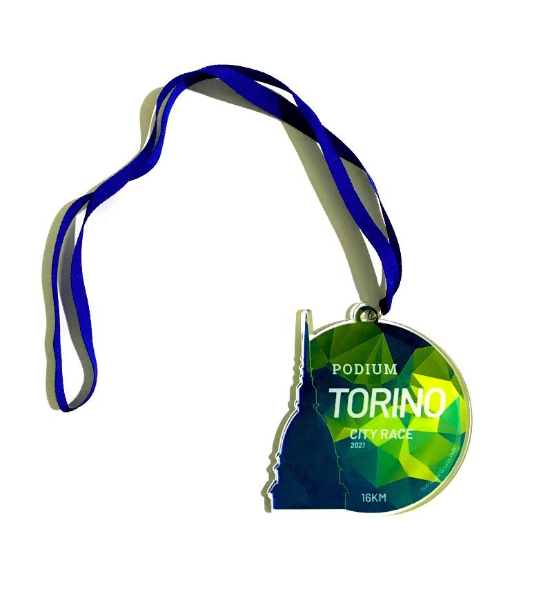 "Medaglia ""Torino City Race"" - 15€"